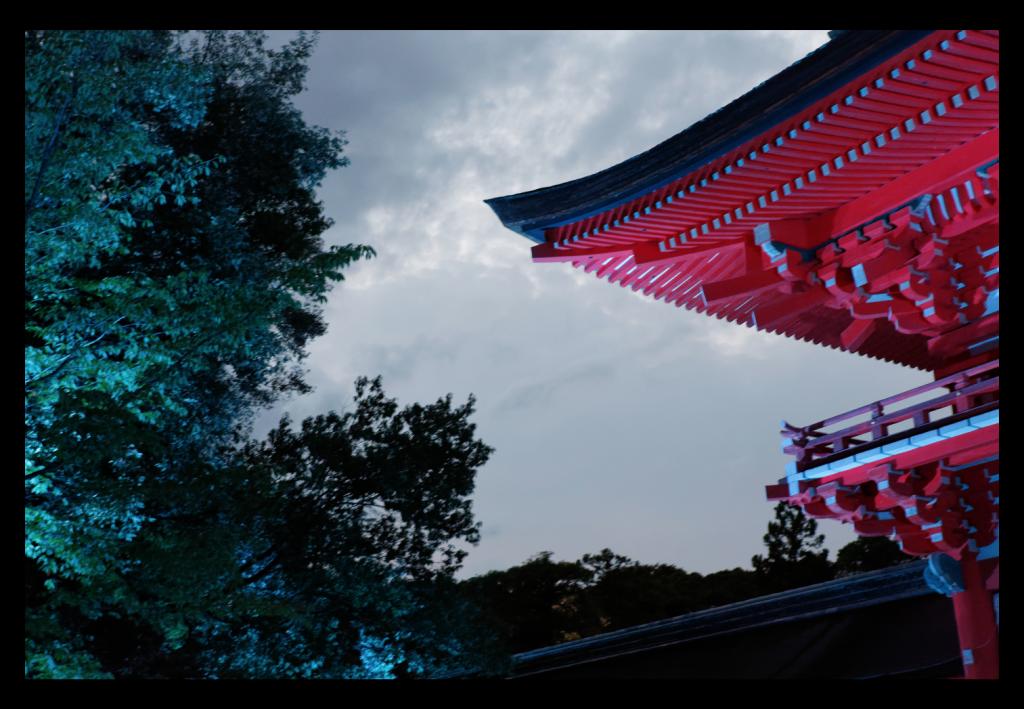 世界遺産「下鴨神社」 糺の森の光の祭に行ってきました、これから行こうと思う人のために