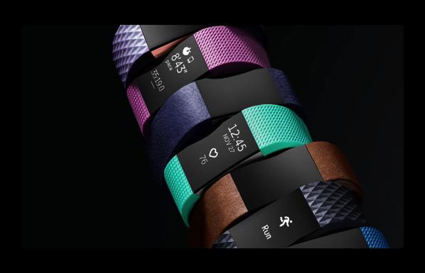 Fitbit、新製品「fitbit charge 2」と「fitbit flex 2」を発表