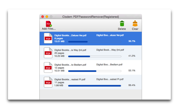 【Mac】PDFのロック解除ツール「Cisdem PDFPasswordRemover 3」がリリース