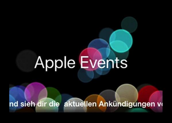 2016年9月8日(日本時間)「Apple Special Event」をリアルタイムで見るのなら、ここをチェック!