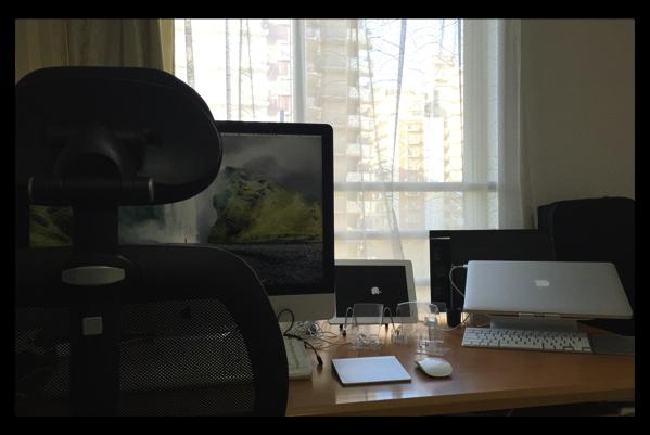 iMac修理が終わって、Time Machineから復元で復活!大画面は圧倒的に使いやすい
