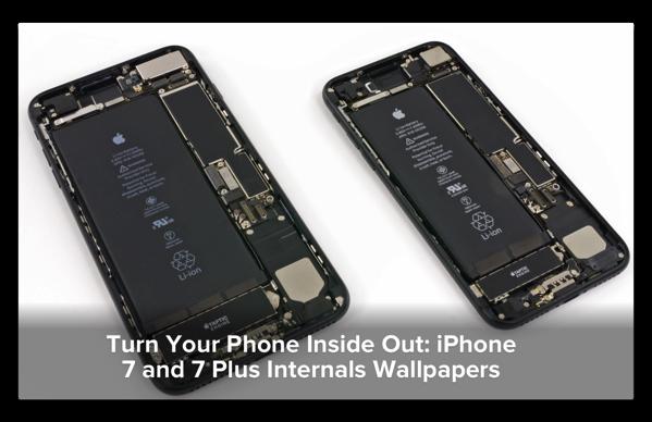 iPhone 7/7 Plusのコンポーネントの壁紙