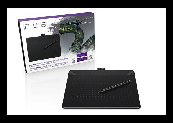 【Mac】ワコム、3Dモデリングを可能にする「Intuos® 3D」を発表
