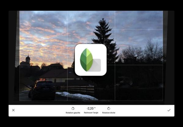 【iOS】フォトエディタ「Snapseed」バージョンアップで文字を回転できるように