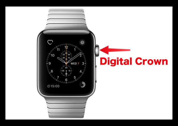 【Apple Watch】「watchOS 3」で変更になったDigital Crown の使い方