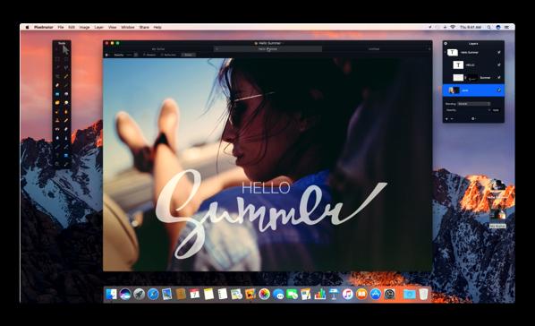 【Mac】画像編集アプリ「Pixelmator」は次期バージョン(3.6)で「macOS Sierra」に完全互換