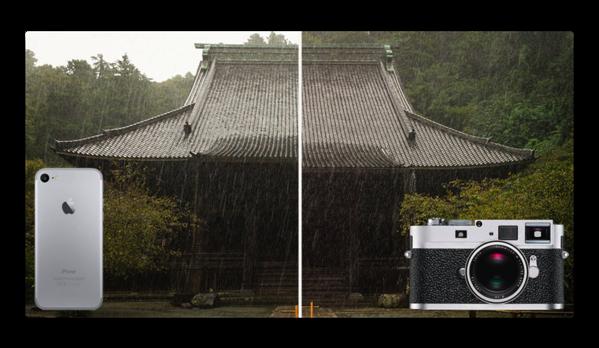「iPhone 7」 でRAW撮影の実力やいかに!写真家が「Leica M9-P with Summicron f2/35mm」との写真を比較