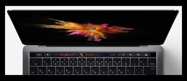 【Mac】Touch Barをサポートする標準アプリ以外のアプリケーション