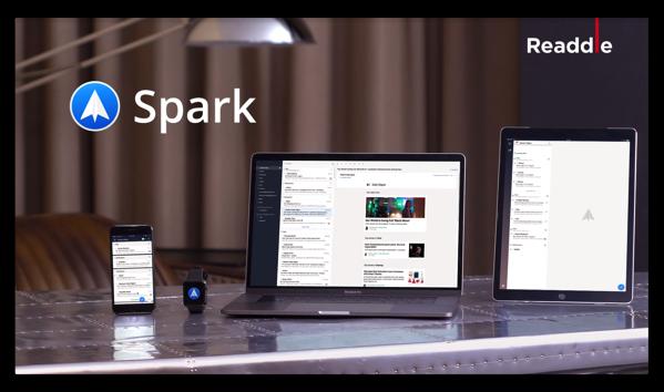 【Mac】Mailクライアント「Spark」が正式にリリース