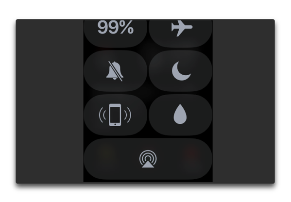 【Apple Watch】「watchOS 3.1.1」でコントロールセンターのロックボタンが無くなった、どうするか?