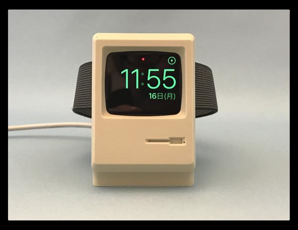 「Macintosh 128K」を模したApple Watch充電スタンド「Elago W3 Stand Apple Watch」が届いた