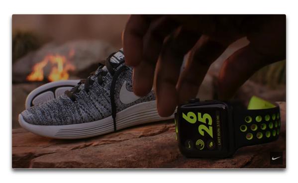 NIKE、「The Man Who Kept Running feat. Kevin Hart」と題する「Apple Watch Nike+」のCMを公開しています