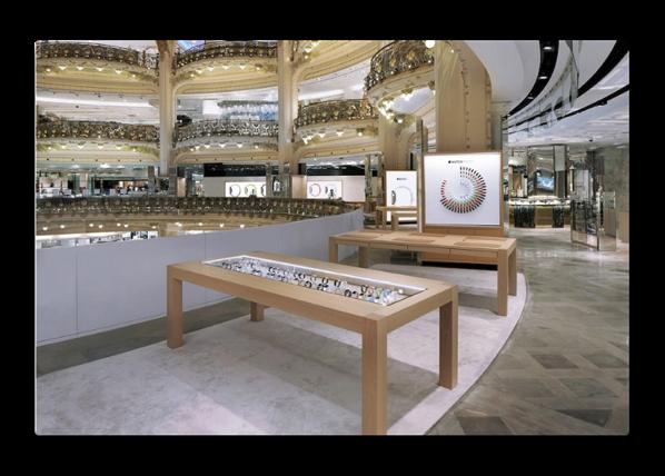 パリのギャラリー・ラファイエットにあるApple Watch Shopを閉鎖