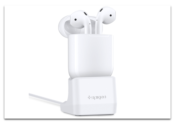 Spigen、AirPods用充電スタンド「Airpods Stand for Apple Airpods」を発表