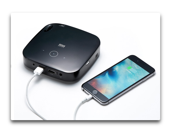 MacやiOSデバイスに対応したモバイルプロジェクター「PRJ-6」がサンワサプライより発売