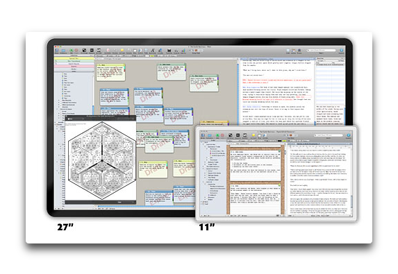 【Mac/iOS】文書の作成を構造化「Scrivener」が40%オフのセール中