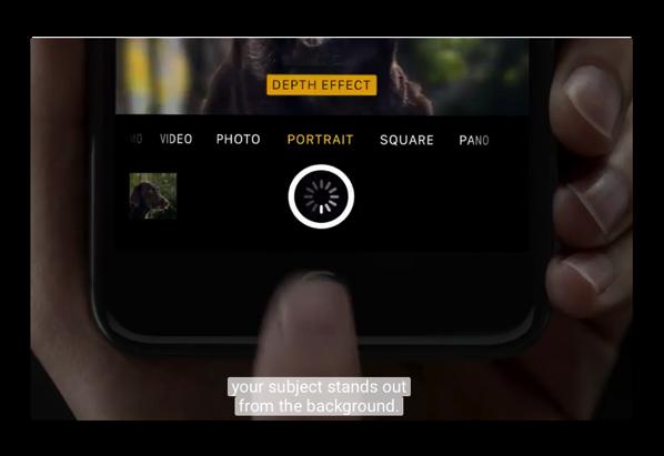 Apple、iPhone 7 Plusのポートレートモードをフィーチャーした新しいCM「Creek」と「Soul Mate 」を公開