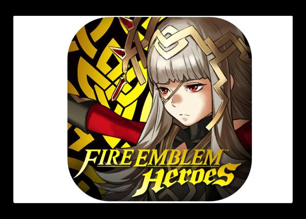 【iOS】任天堂のゲーム「ファイアーエムブレム ヒーローズ」初日は290万ドルの売上