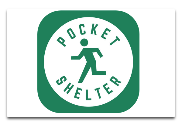 【iOS】緊急地震速報に連動する震災時避難支援アプリ「ポケットシェルター」(無料)