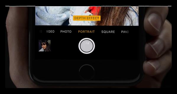 Apple、iPhone 7 Plusのポートレートモードを紹介するビデオ2本を公開
