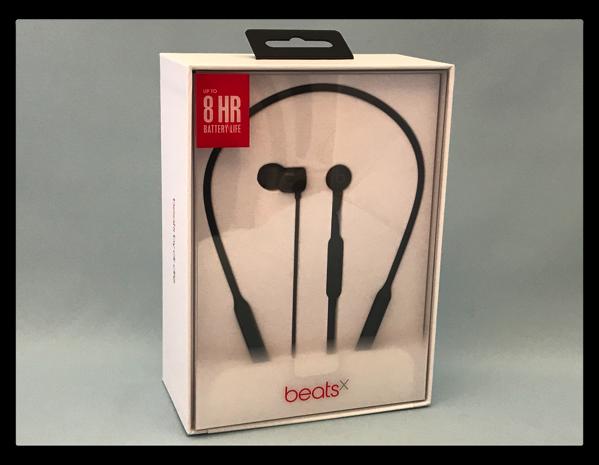「BeatsXイヤフォン」が届いたので、開封から設定まで
