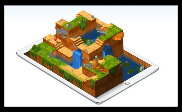 Apple、楽しく遊びながらプログラミングを学べる「Swift Playgrounds」に日本語版が登場