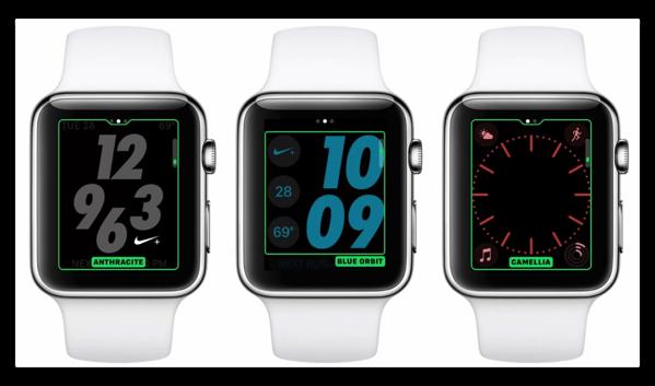 「watchOS 3.2」では、2017年春にあわせて文字盤と新たなカラーオプションが