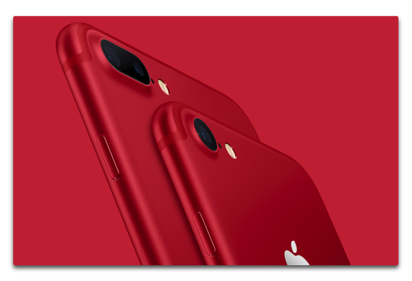 iPhone 7 (PRODUCT)RED™を発表、微妙なのは発売時期と・・・