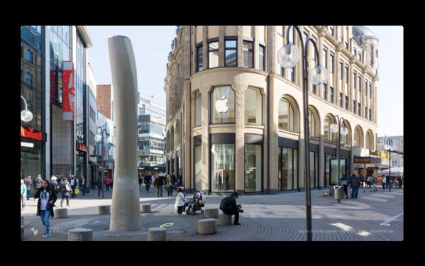 Apple、3月25日にオープンするドイツのケルンの「シルダーガッセ直営店」の写真