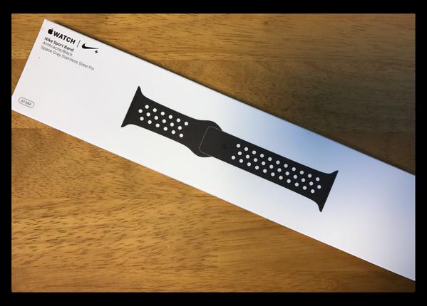 【Apple Watch】「アンスラサイト/ブラックNikeスポーツバンド」が届いた、これで問題は解消したのか?