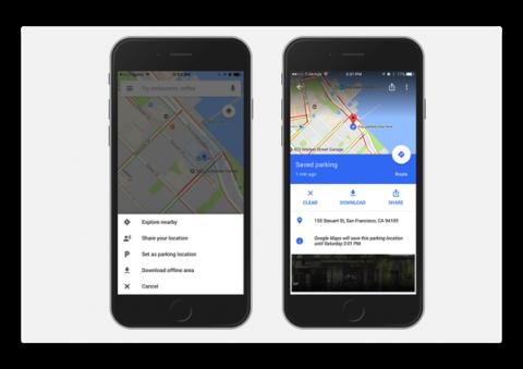 【iOS】Google Mapで駐車通知機能が利用可能に