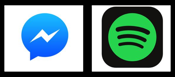 【iOS】Facebook、「Spotify」をMessengerサービスに統合し共有可能に