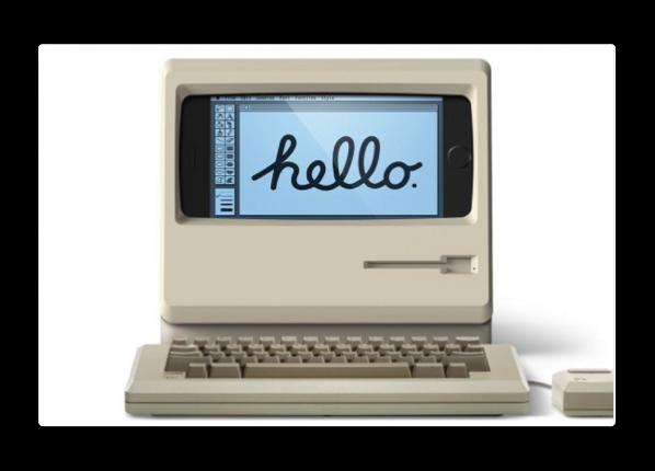 elago、Classic Macintosh風のiPhone 6/6s/7用充電スタンド「M4 Stand」を発売