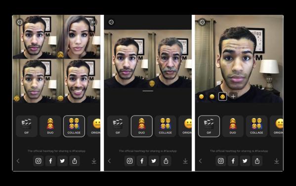 【iOS】人工知能を使った顔のモーフィングアプリ「FaceApp」