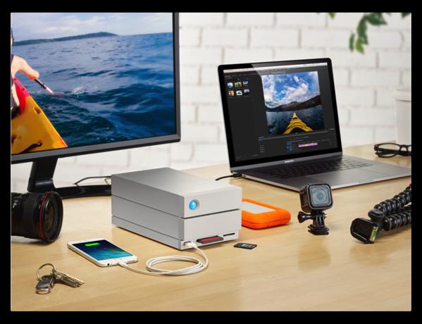 LaCie、ドッキング・ステーション「2big Dock Thunderbolt™ 3」の発売を発表