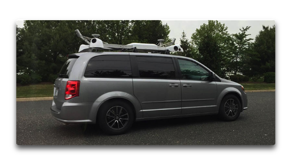 Apple Maps VehicleがConnecticutを調査開始、画像は自律運転も含めてのデータ収集?