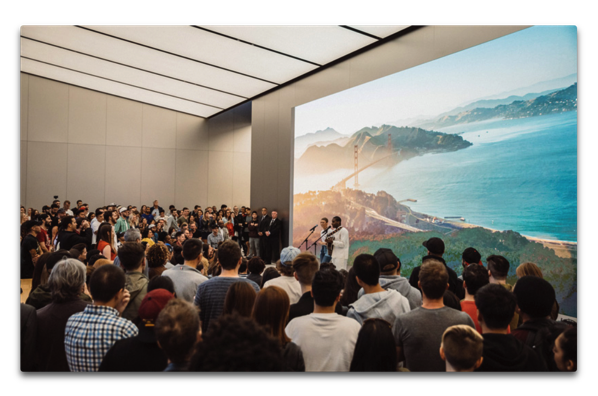 "Apple、「""Today at Apple"" launches worldwide」とのニュースを発表"