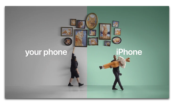 Apple、AndroidユーザーをiPhoneへの切替を促す新しいビデオ5本とWebサイトを公開