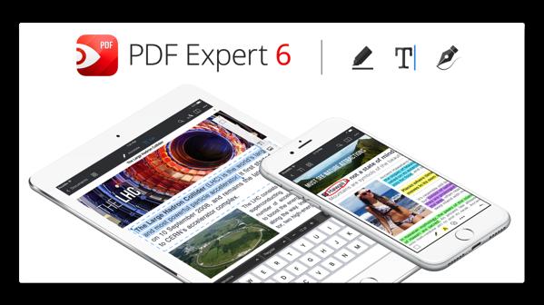 【iOS】Readdle Inc. 、新しく生まれ変わったPDF 編集アプリ「PDF Expert 6」をリリース