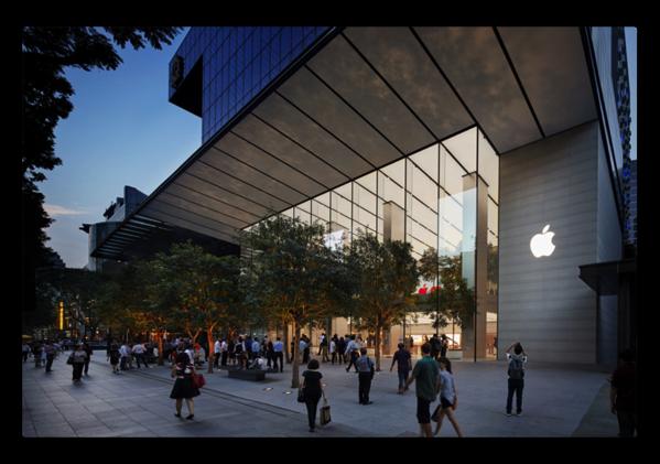 Apple、シンガポール初のApple Orchard Roadのオープンの模様をNewsroomで紹介