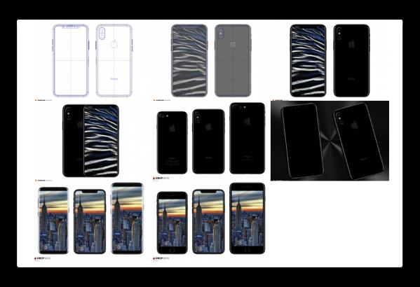 「iPhone 8」のサイズは「iPhone 7」よりも若干大きくなる
