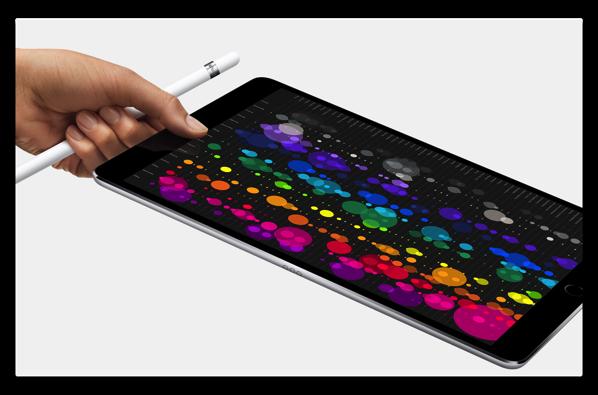 新しいiPad Pro 10.5inch、120Hzの 「ProMotion」機能がよく解るビデオ