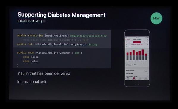iOS 11&watchOS 4で「糖尿病管理」「インスリン投与」「CoreBluetooth」新しい運動データなど