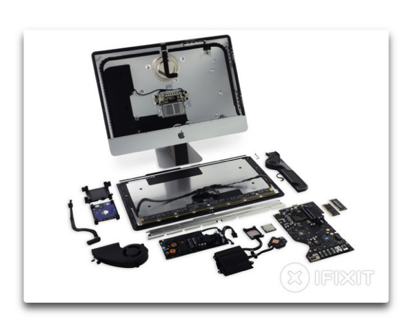 新しい4K 21.5インチiMacは、分解する事でRAMとCPUが交換が可能