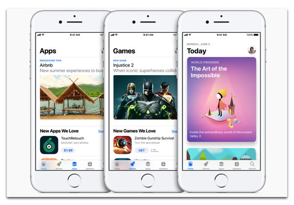 Apple、レビューガイドラインの撤回でApp Storeから何十万ものタイトルを削除