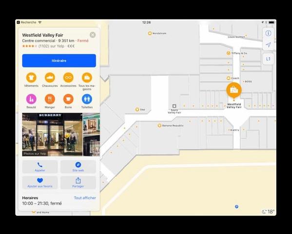 【iOS 11 beta】屋内マップを強化、日本では東京も
