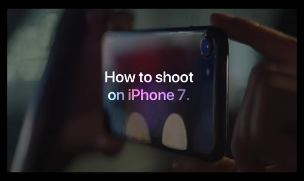 Apple、iPhone 7/7 Plusでの撮影方法の新しいビデオ3本を公開(現地時間:2017年6月2日)