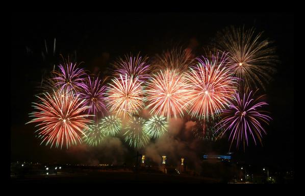 iPhoneのカメラアプリを使って、素晴らしい花火の写真を撮影する方法