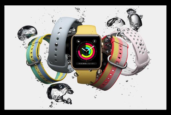 Apple Watch、夏はやはり「ウーブンナイロンバンド」です