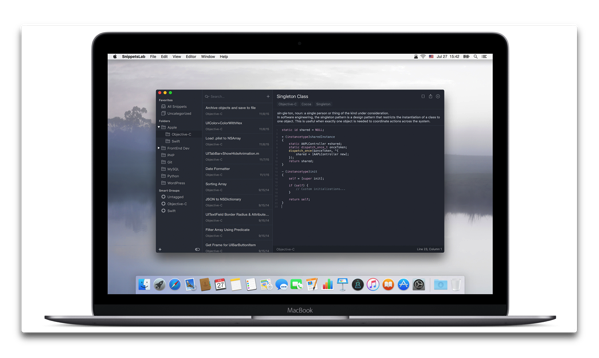 【Sale情報/Mac】コードスニペットマネージャ「SnippetsLab」が50%オフ